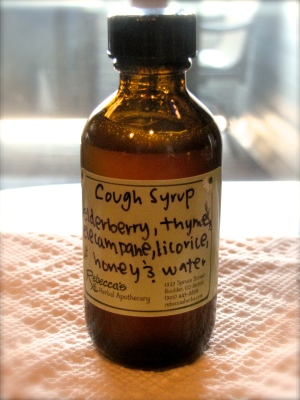 Cough Syrup. made in class